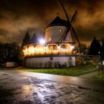 Leutewitzer Windmühle bei Nacht